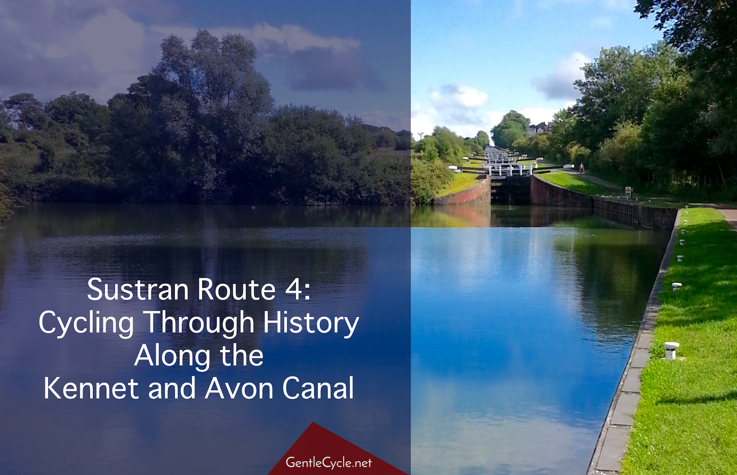 Locks along the Kennet and Avon Canal