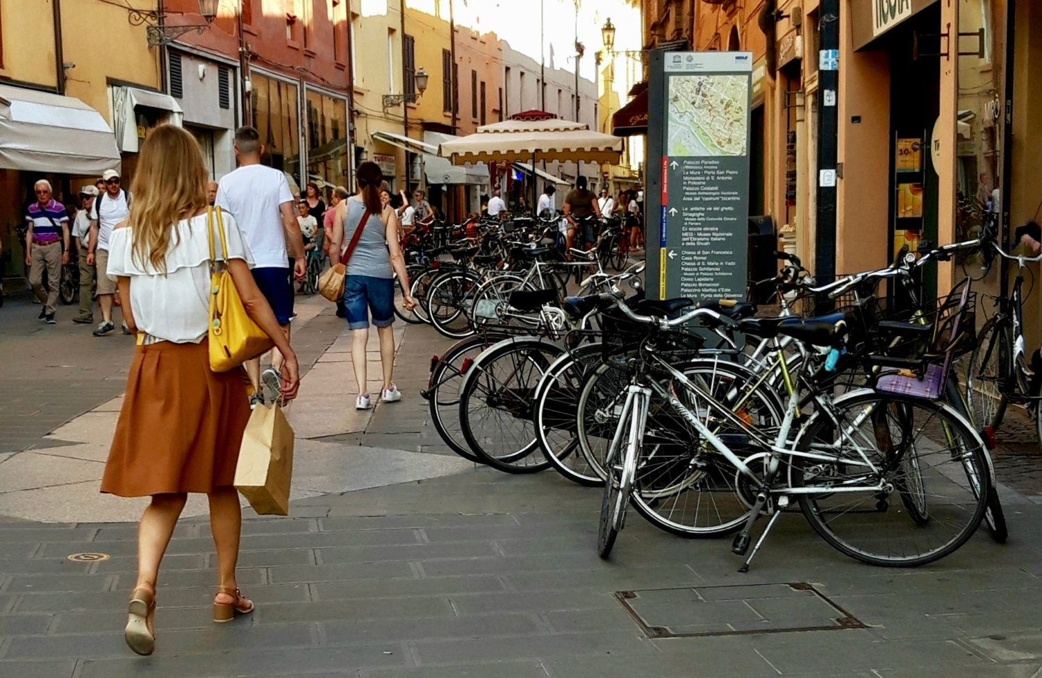 Ferrara is a city of bicycles
