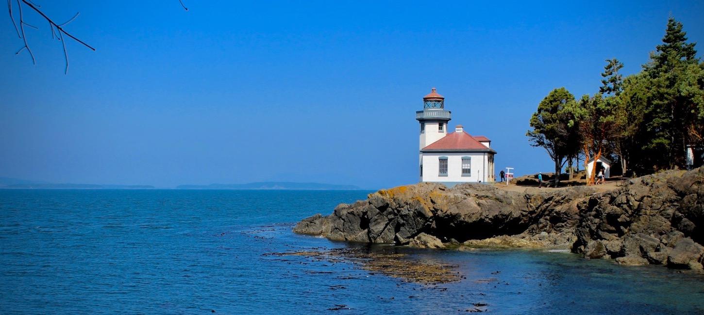 A Lighthouse on San Juan Island