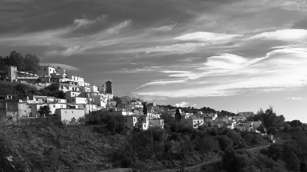 Mairen, a village in the Alpujarra region of Spain