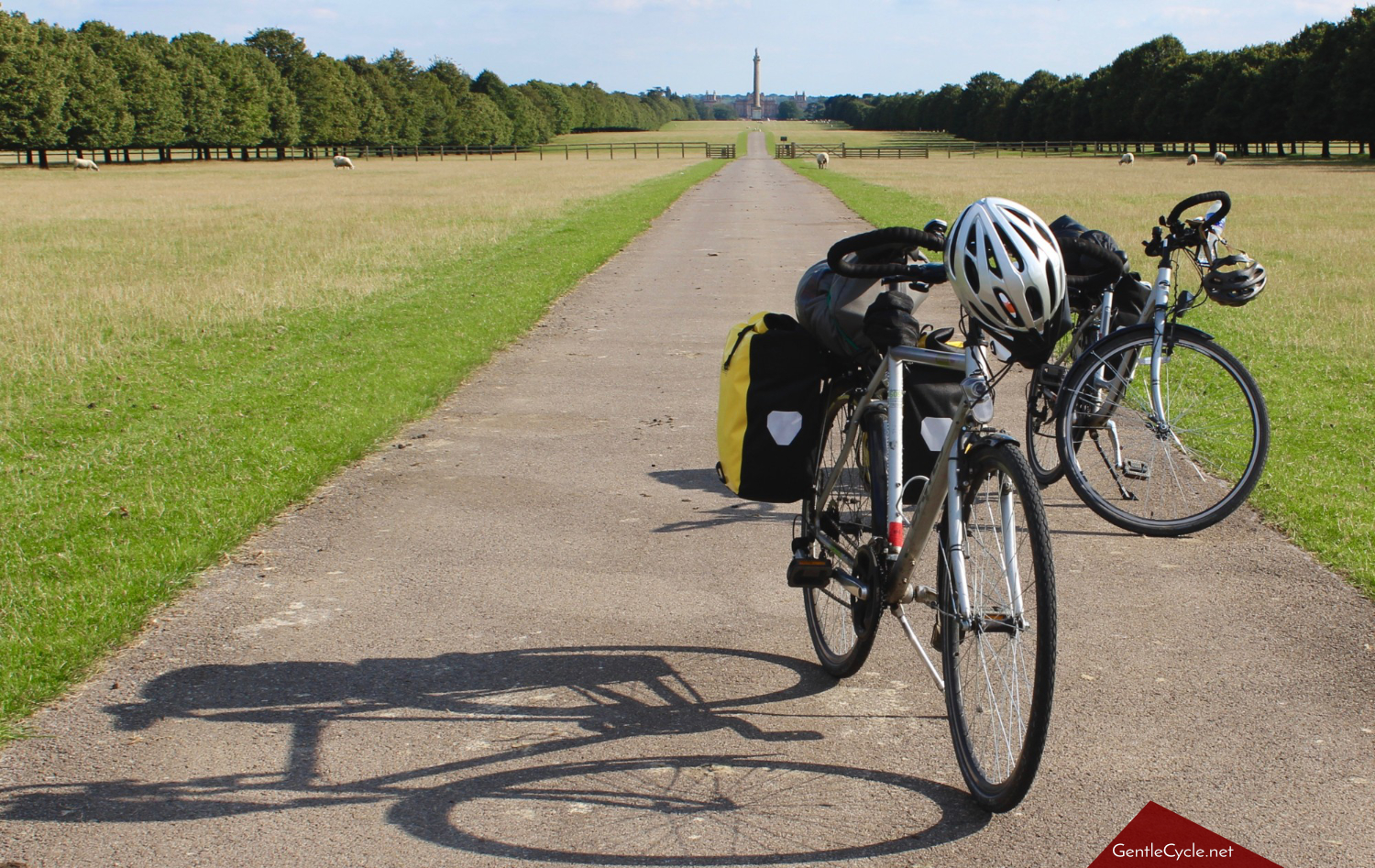 Bicycles at Blenheim Palace