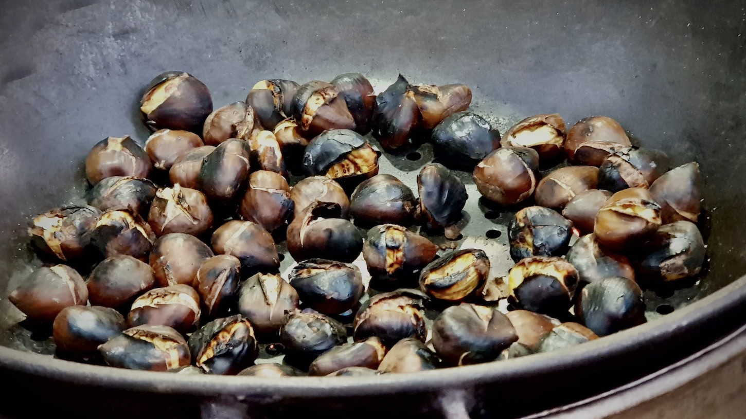 "Featured image for ""<em>Castañas Asadas</em> or Roasted Chestnuts"""