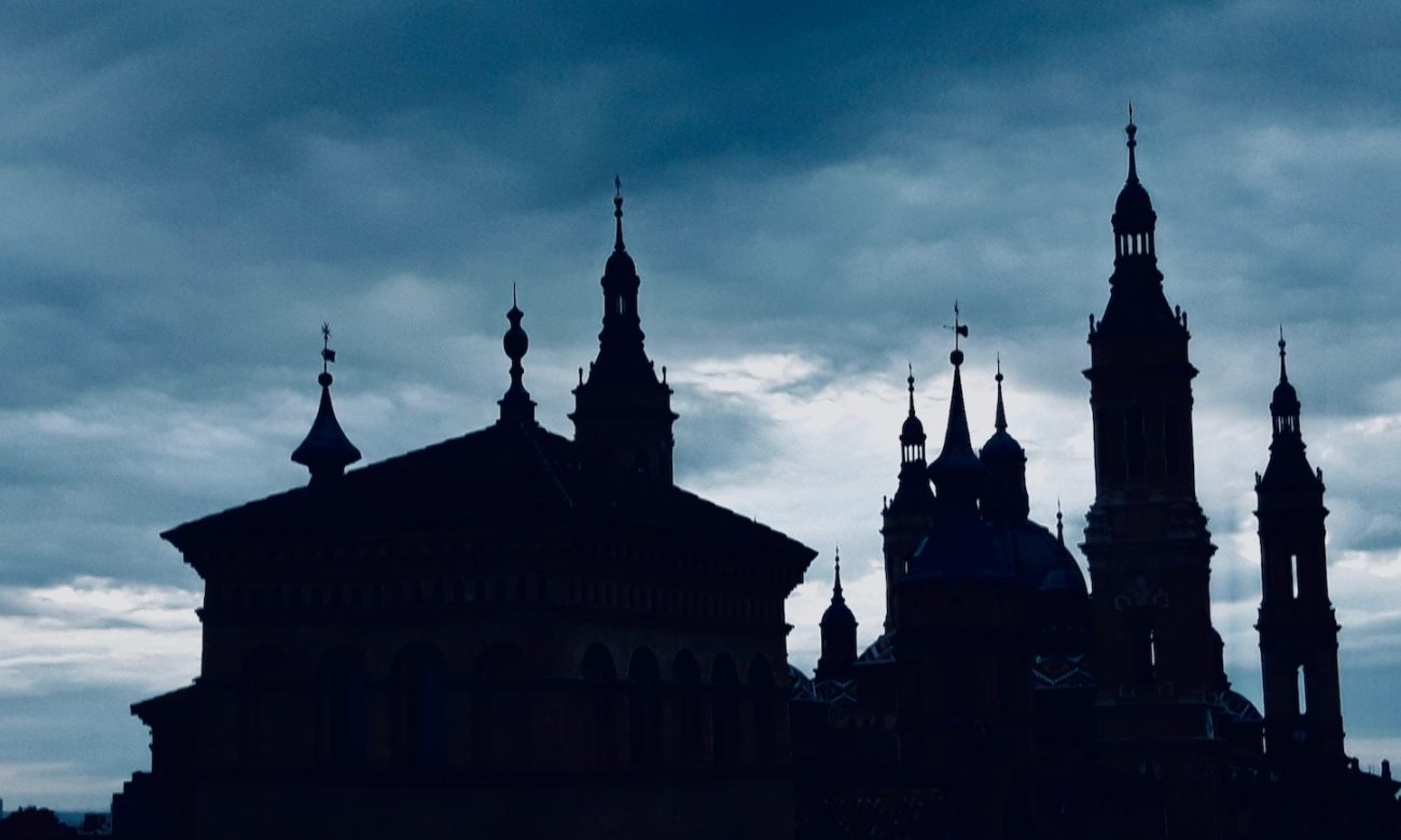 Basilica towers ofZaragoza