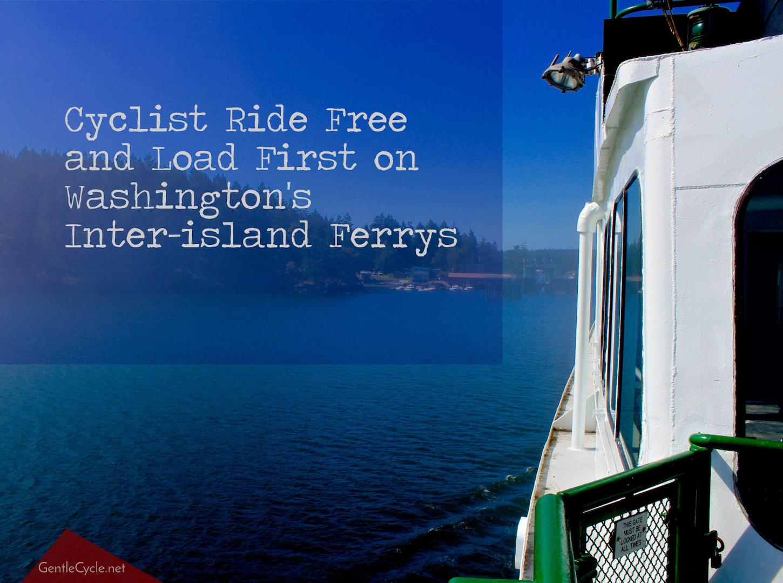 Washington Ferry off Shaw Island